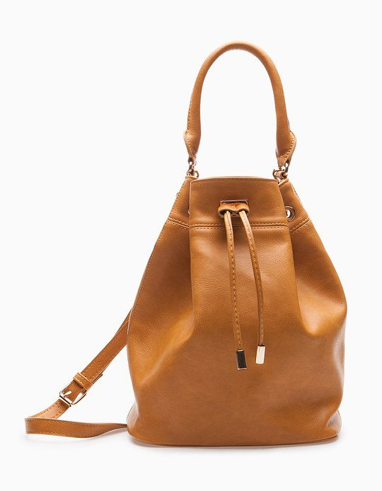 At Stradivarius you'll find 1 Drawstring bag for woman for just 359.9 IDR . Visit now to discover this and more BAGS.