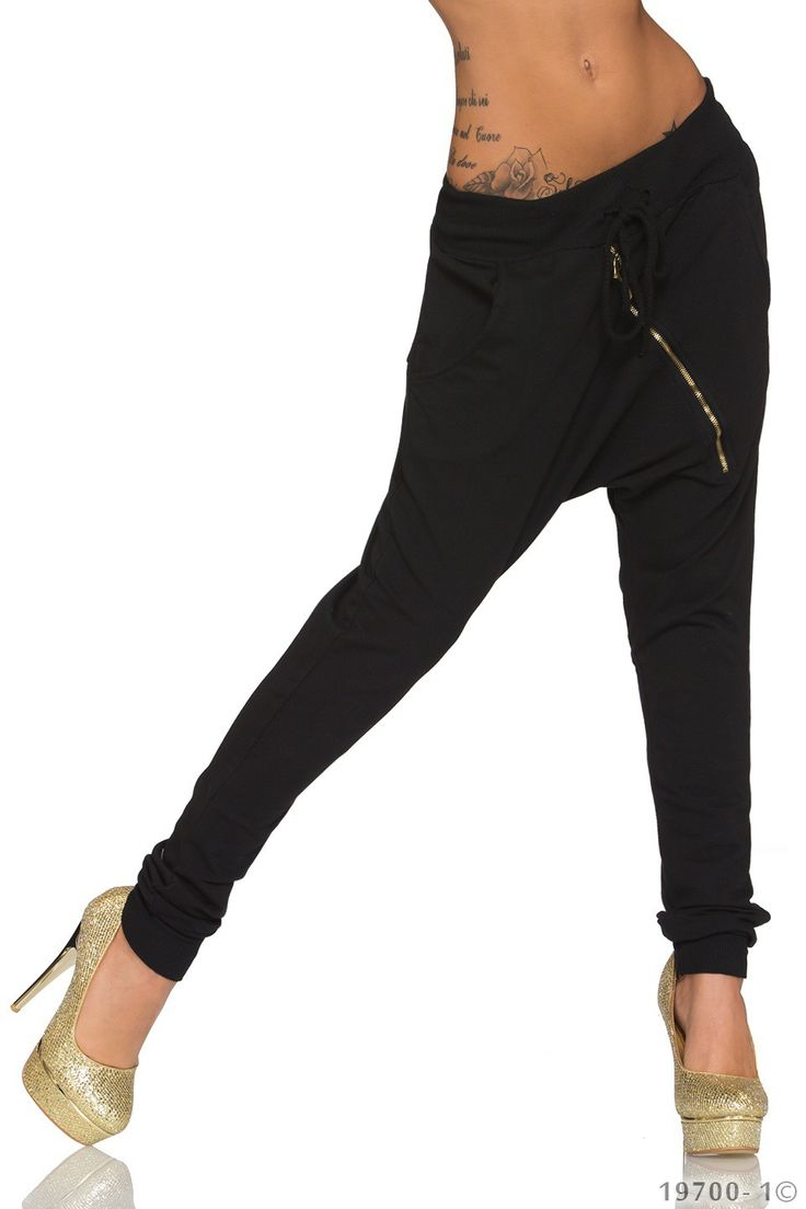 Pantaloni Dama Moderni Black | New Fashion Romania  >> Click pe poza pentru a vedea pretul. #PantaloniDama