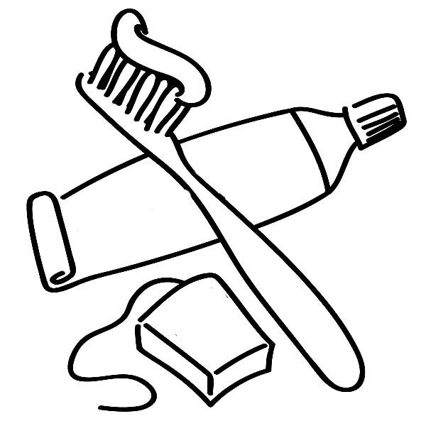 17 Best Ideas About Brush Teeth Clipart On Pinterest Tooth Brushing Coloring Pages