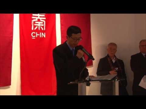 Gala opening speech by Mr Huang Guobin.