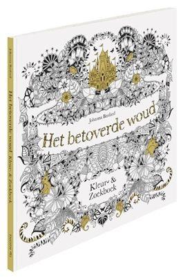 Het Betoverde Woud Kleurboek Voor Volwassenen Kleurenvoorvolwassenen Kleuren Spon Colouring For AdultsAdult ColoringColoring BooksJohanna