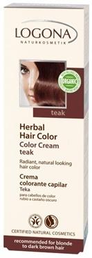 Herbal #HairColor Cream Teak #LogonaUSA