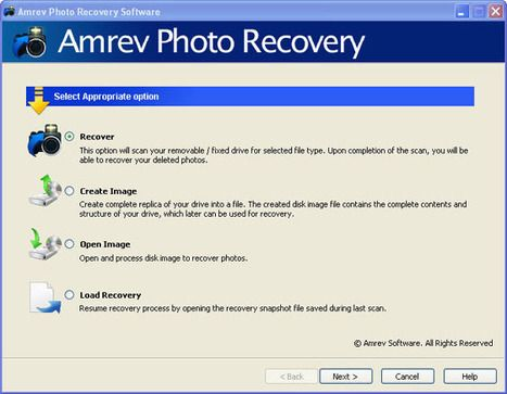 Recover your deleted photos from multiple storage devices with the help of Deleted Photo Recovery Software. Email here sales@amrevsoftware.com for detail info.