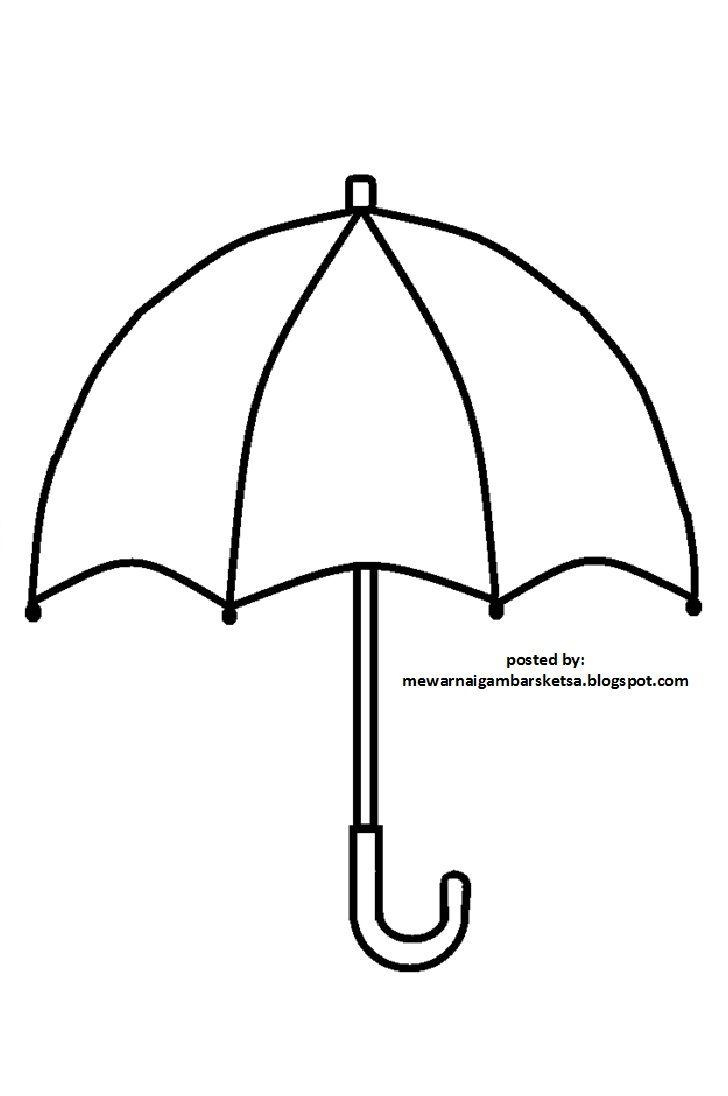 Hasil Gambar Untuk Gambar Hitam Putih Payung Dengan Gambar