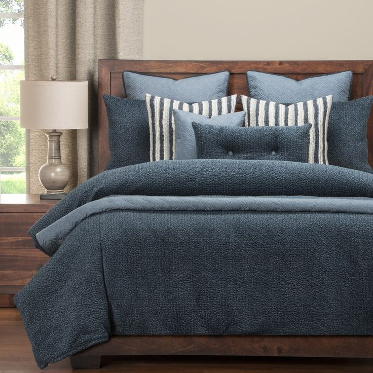PoloGear Tumbleweed Indigo Luxury Duvet Cover Set | Overstock.com Shopping - The Best Deals on Duvet Covers