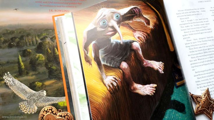 Harry Potter and the Chamber of Secrets - Illustrated Edition - Harry Potter si Camera Secretelor - Carte ilustrata - Bloomsbury ISBN 9781408845653 Jim Kay JK. Rowling Dobby