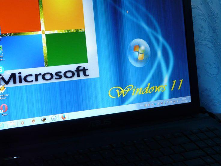 Мой ноутбук ASUS AMD Windows 11