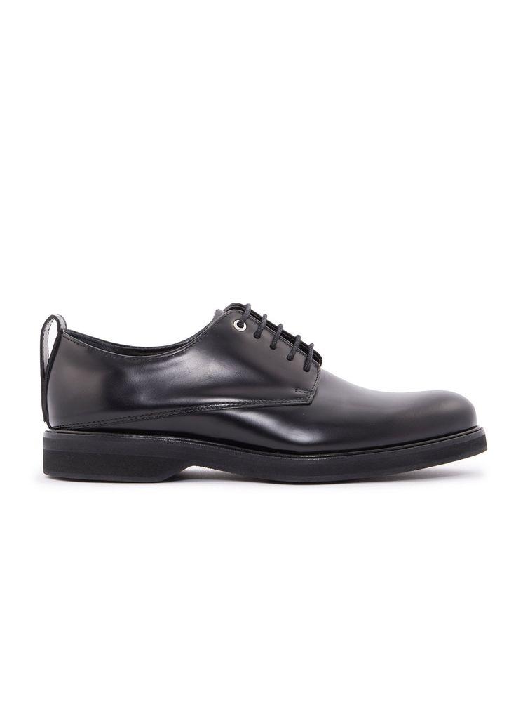 Want Les Essentiels de la Vie - Menswear - FW16 // Black Montoro derby shoes in leather