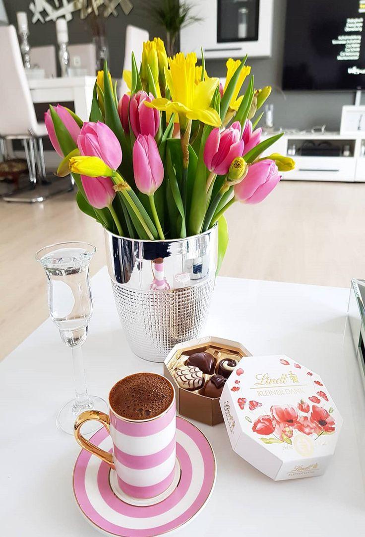 картинка весенний букет марта и завтрак если
