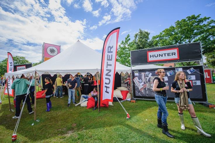 Organisatie activatie tijdens Stereo festival. Een activatie voor bezoekers die Hunter laarzen kunnen ervaren tijdens het festival en door middel van een te gekke foto vastgelegd op facebook konden deze bezoekers kans maken op een paar laarzen