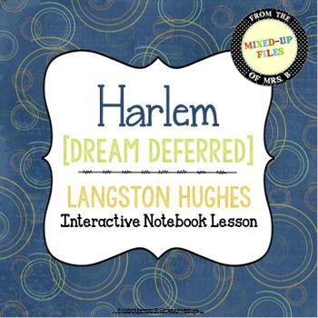essay on langston hughes dream deferred