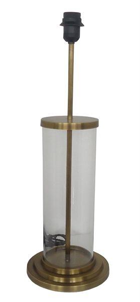 Van Roon Living Webstore - Lighting > Lighting > Table lamps > - > table lamp elkan 21x21x60 cm antique brass