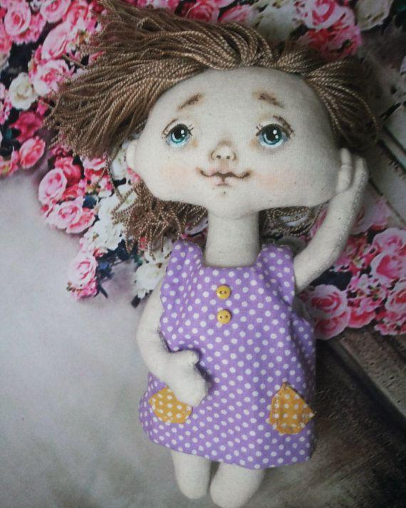 Кукла текстильная сувенирная от Savkota на Etsy