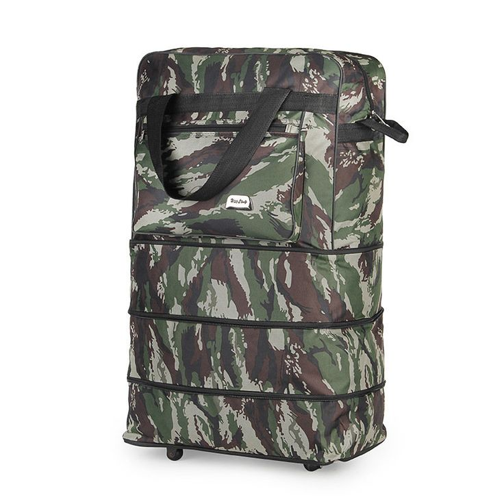 Honana HN-TB36 Expandable Rolling Travel Storage Bag Light Weight Rolling Wheeled SuitCase