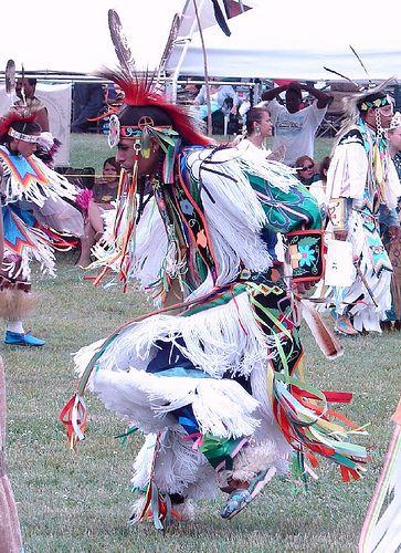 Dancer at Nanticoke Lenni Lenape Pow Wow in NJ.  (Woody McKay)