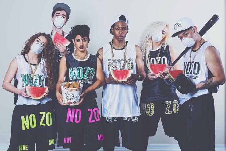 NOZO Summer 2014 Lookbook #streetstyle #fashion #streetfashion #mensfashion #pyrex #hba #baseball #jersey