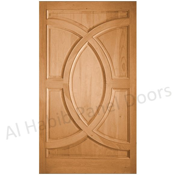 16 best solid wood door design images on pinterest panel for Wooden double door designs for main door
