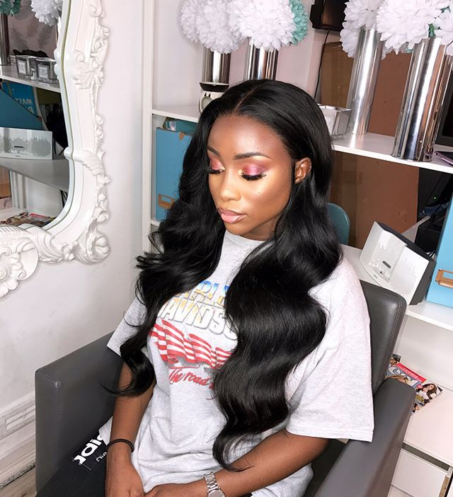 """2,047 Likes, 34 Comments - DOLL HOUSE LONDON SALON (@dollhouselondon_) on Instagram: """"Issa SLAY bih on the gorgeous @sandralambeck lace frontal wig slayed by dollhouse stylist…"""""""