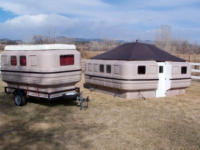 Innovative  Shasta 1439 Vintage Camper Travel Trailer Light Weight 1400 LBS