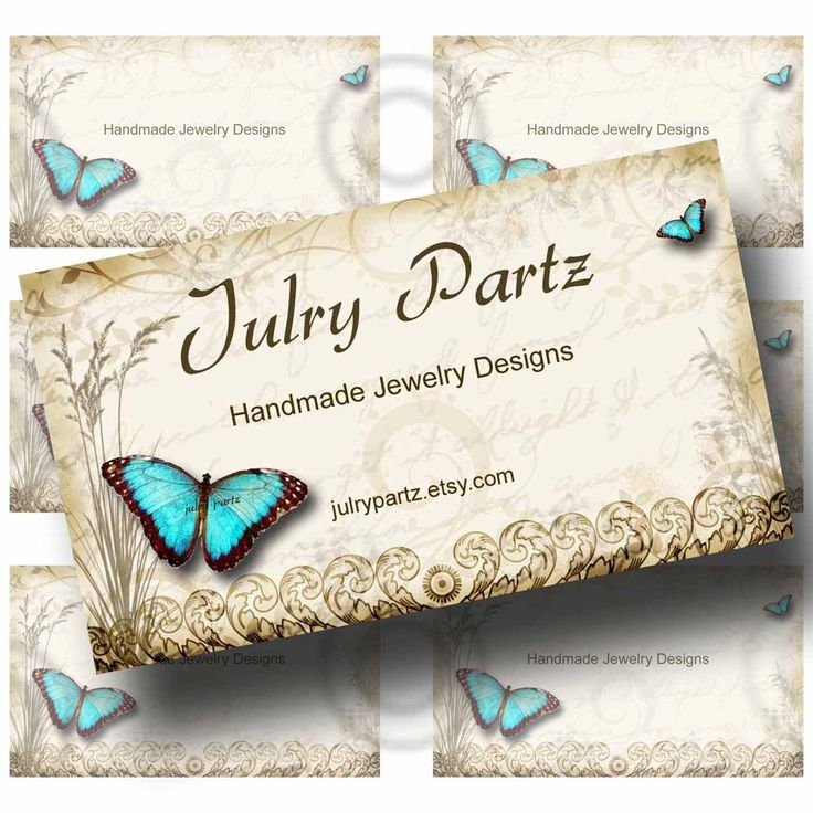 Fine Handmade Jewelry Business Cards Pictures Inspiration - Business ...