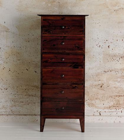 Bedroom Furniture > Chests of Drawers > Shaker 6 Drawer Chest | Warren Evans