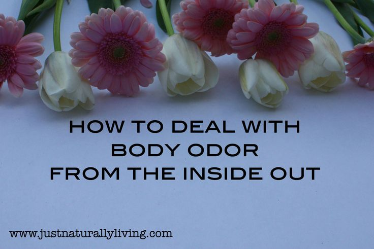 No one wants to have harsh body odor. Using natural deodorant can help deal with it but lets look at how to deal with body odor from the inside out.