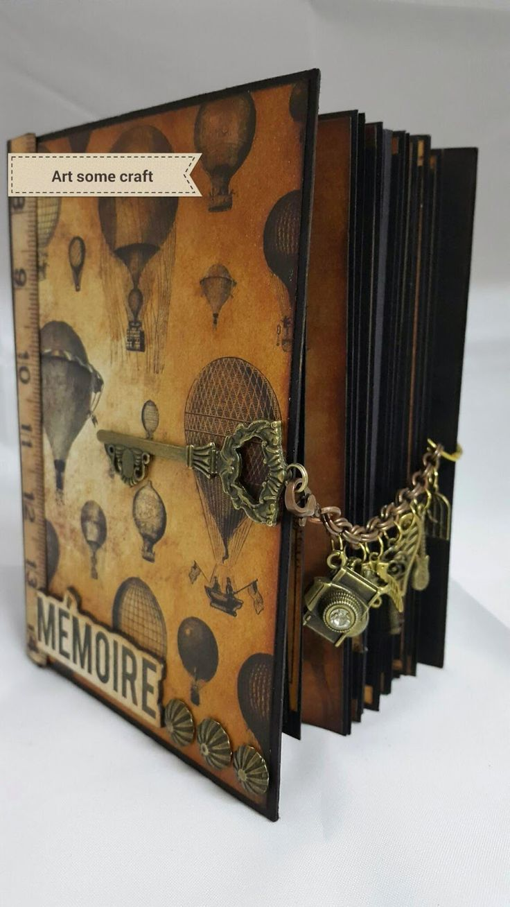 How to scrapbook a mini album - Namaste Guys Here Is My Latest Project It Is What I Am Calling A Foto Albumshalloween Mini