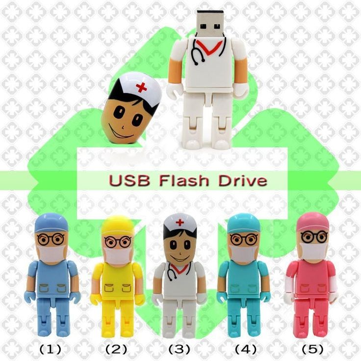 Funny Usb Doctor Flash Drive Dentista Pen Drive Nurse Gifts Memory Stick Real Capacity Cheap Pendrive 8G,16G,32G
