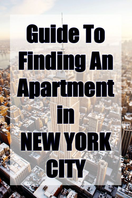 How To Find An Apartment in New York City