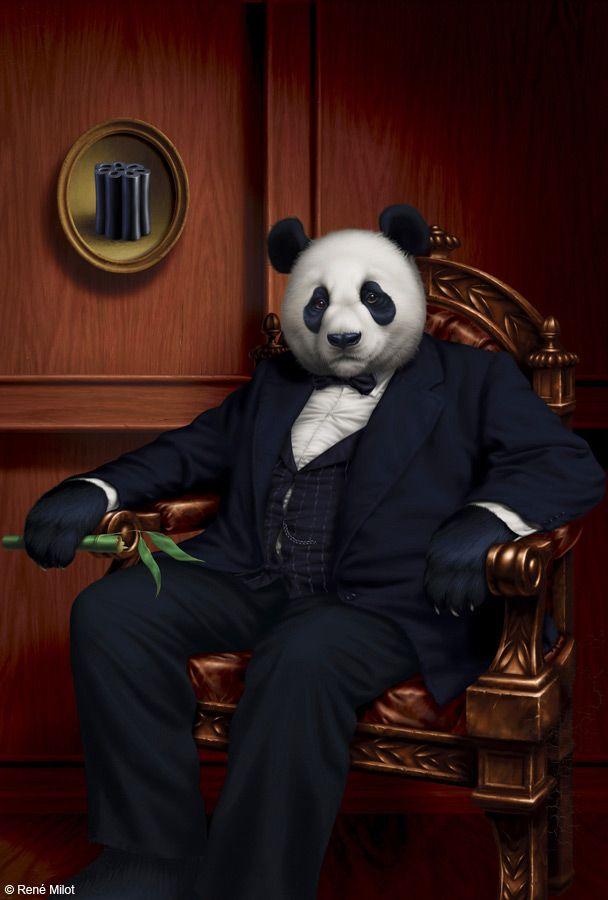 René Milot | DIGITAL ART | Panda Boss