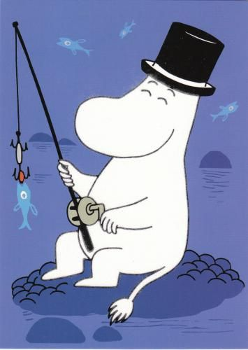 Moomin Fishing