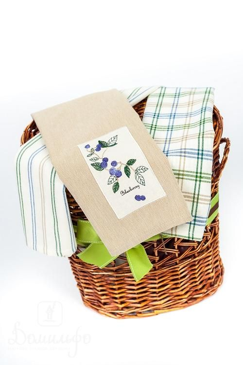 Набор полотенец ГОЛУБИКА 45х70 (3шт) от Arloni (Индия) - купить по низкой цене в интернет магазине Домильфо