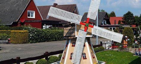 Bauplan Windmühle   Eine Windmühle ist ein begehrtes Objekt als Deko für den … – Petra Fendl