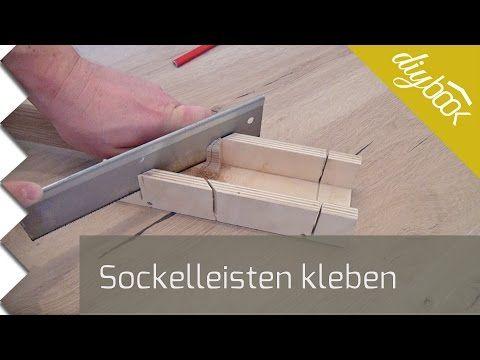 Sockelleisten kleben   Video-Anleitung @ diybook.de