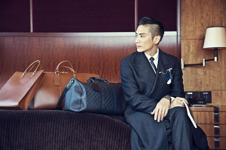 GQ Japan with LOUIS VUITTON