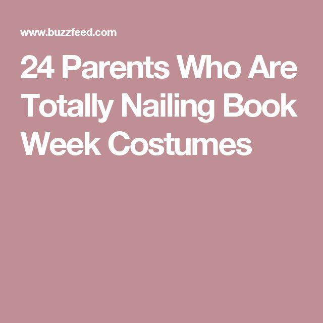 24 Parents Who Are Totally Nailing Book Week Costumes