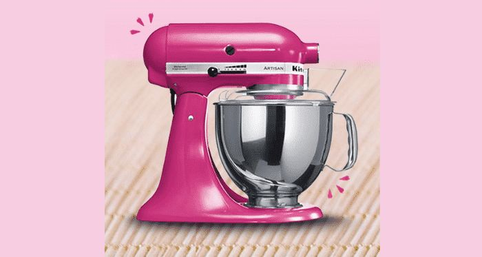 A remporter : 1 robot KitchenAid de 700€