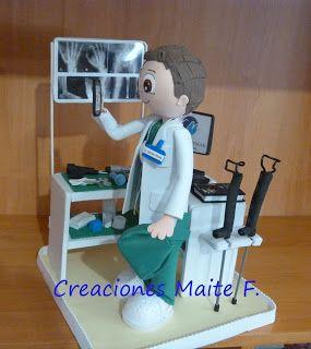 FOFUCHAS. Manualidades y Creaciones Maite: FOFUCHO MEDICO CIRUJANO Traumatologo de Clinica