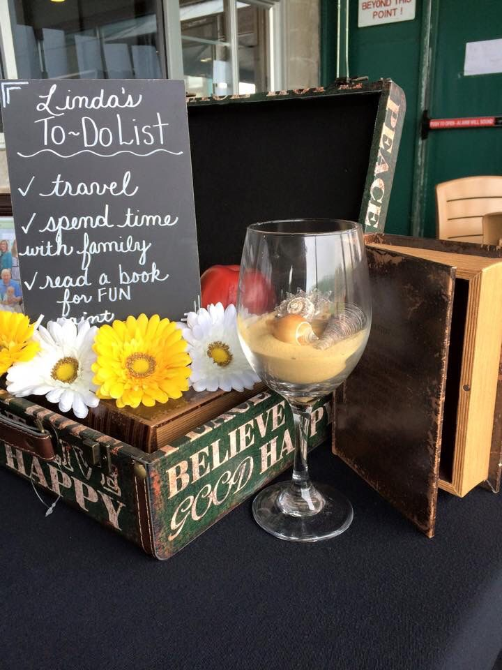 Best retirement party centerpieces ideas on pinterest