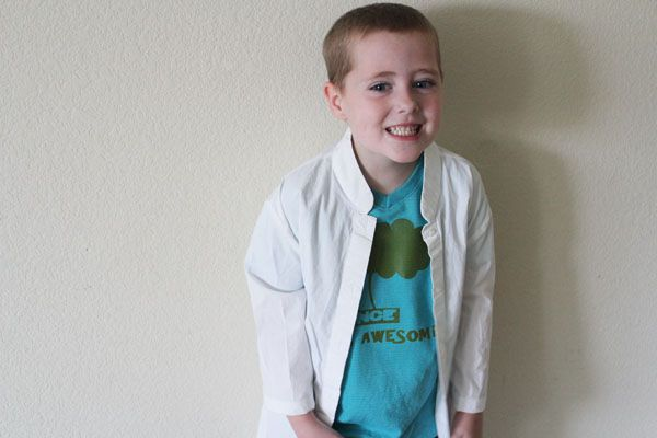 Flint Lockwood Costume DIY  from Cloudy with a Chance of Meatballs
