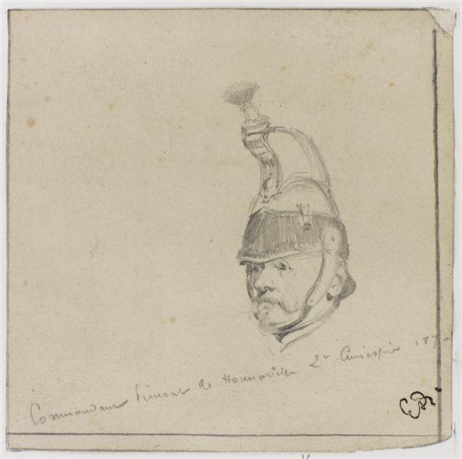 Amédée-Jean-Baptiste Pimont de Cécire de Honnaville (1817-1888), commandant au…