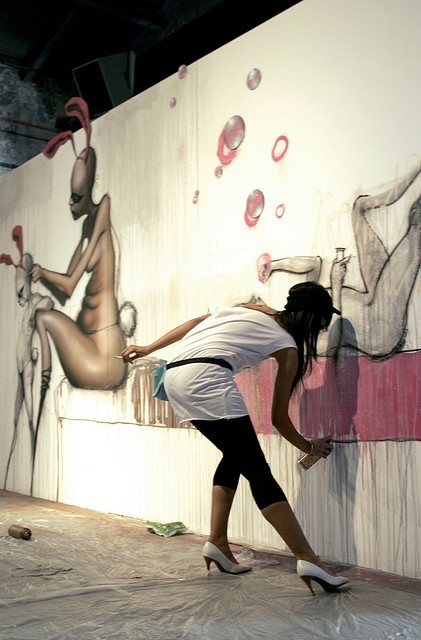 Herakut, you sexy thing you!!!: Art 000, Herakut Street, Inspiration Ideas, Street Art, Art Urbano, Streetart Art, Art Illustrations Design, Heracut Streetart, Graffiti Tags