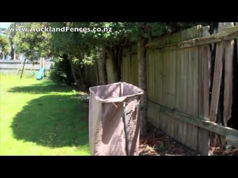 Video 1: Building a Fence, clearing the line. Fence building by Auckland Fences.