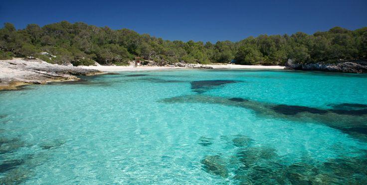 Cala Turqueta es otra playa virgen situada, una de las preferidas por los turistas que visitan la isla, ya que parece de película. Es una playa realmente hermosa, pero no dispone de otros servicios. Aguas cálidas y cristalinas. No pueden visitar Menorca sin tomar el sol al menos un día es esta cala paradisiaca.