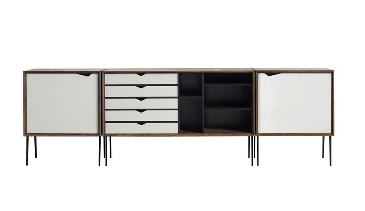 die besten 17 ideen zu sideboard nussbaum wei auf. Black Bedroom Furniture Sets. Home Design Ideas