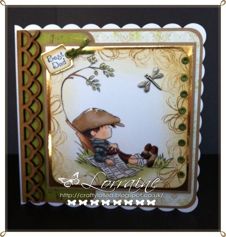 Handmade card LOTV