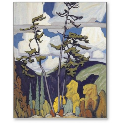 Lawren Harris - Group of Seven - The Pines
