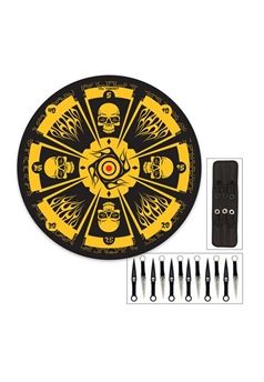 Throwing Knife Set With Knives And Hanging Target | Buy Now at mrknife.com