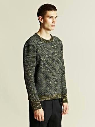 Balenciaga Men's Alveolees Knit Jumper