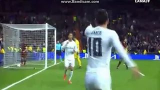 James Rodriguez Goal Gol Real Madrid vs Roma 2-0